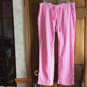 Like New, J. Crew, plaid pajama bottoms!
